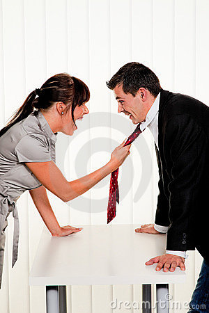 Dispute at the workplace
