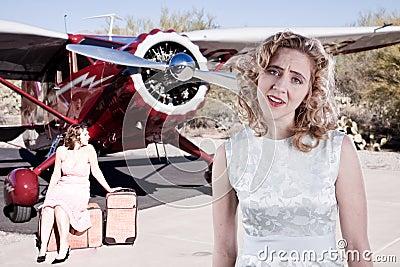 Dissapointed Fluggäste
