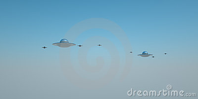 Distant UFOs