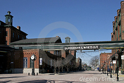 Distillery District - Toronto, Canada Editorial Photography