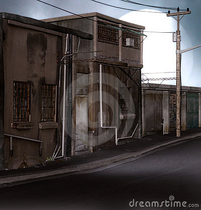 Distopian Straße