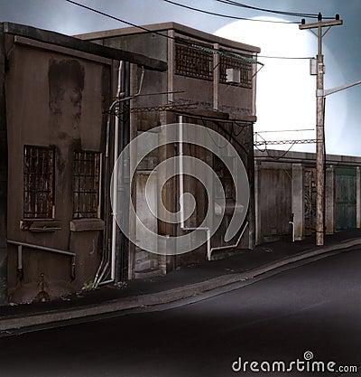 Distopian ulica