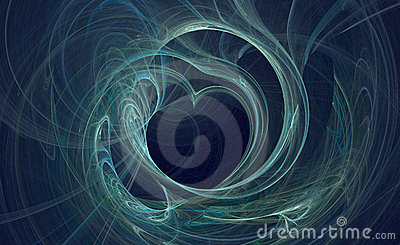 Distorted blue love