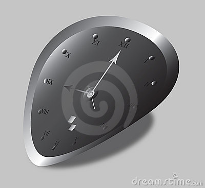 Distorted Clock