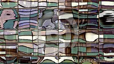 Distorted Windows Reflection - Color Replaced