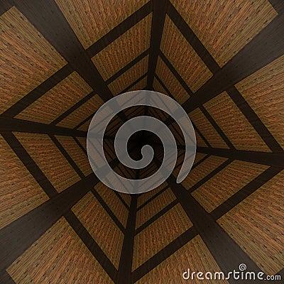 Distorted wooden background