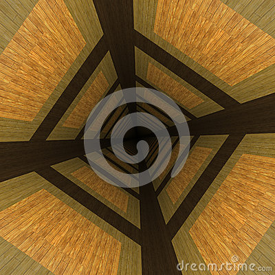 Distorted wooden background
