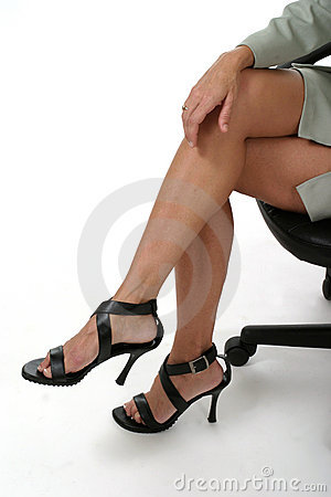 Free Distracting Legs In Business Office 1 Royalty Free Stock Images - 885869