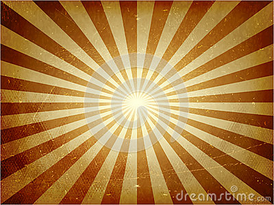 Distressed light burst vector background