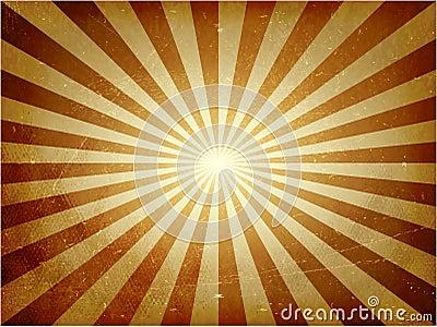 Distressed light burst vector background