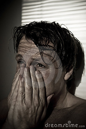 Free Distressed Man. Royalty Free Stock Photo - 8004615