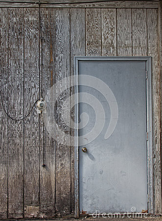 Distressed Wall and Door Backdrop