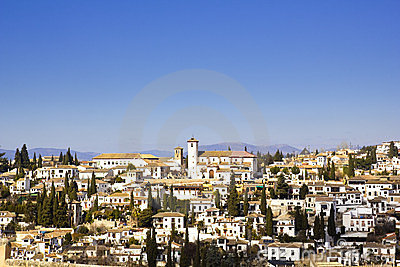 District of Albaicin, Granada.