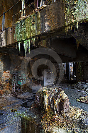 Disused mine facilities