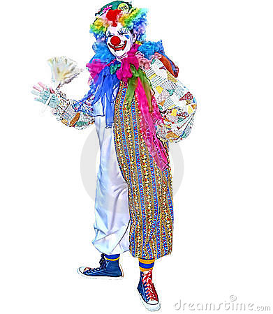 Free Ditto The Clown Stock Image - 14540411