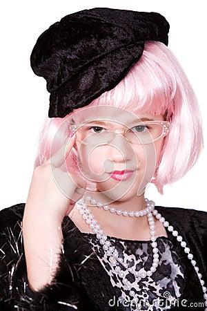 Diva with Specs