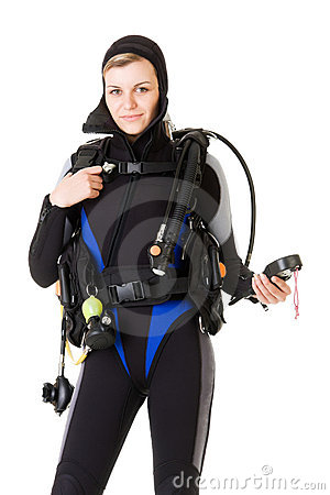 Before dive