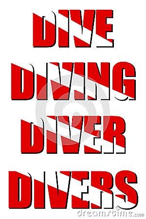 Dive Diving Diver Divers