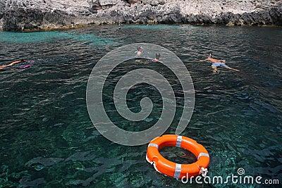 Dive by snorkel