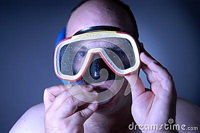 Diver: wet III
