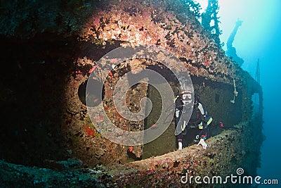 Diver wreck Victoria