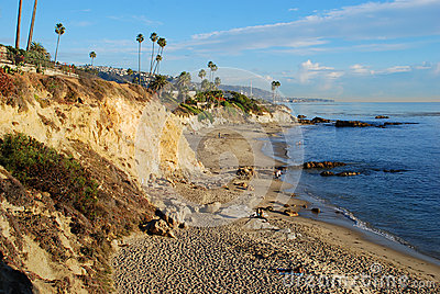 Divers Cove Beach and Heisler Park, Laguna Beach, California