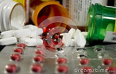 Divers médecines et narcotiques
