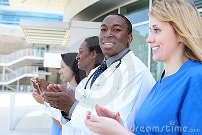Diverse Attractive Medical Team