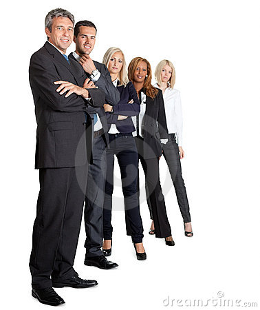 Diverse Business Group Standing Together Royalty Free Stock Photography - Image: 22287517