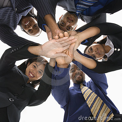 Free Diverse Business People Royalty Free Stock Images - 2052009