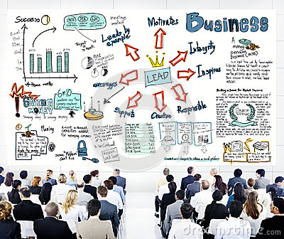 Diverse Business People in a Leadership Training