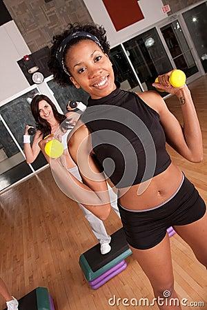 Diverse fitness class