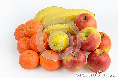 Diverse fruits