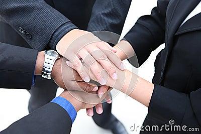 Diverse Group Teamwork