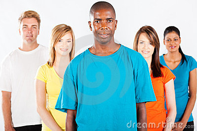 Diverse people group