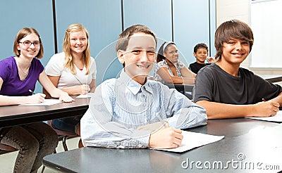 Diverse School Kids