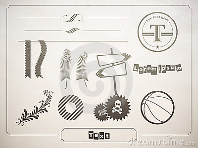 Diverse set of design elements