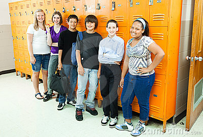 Diverse Students in School