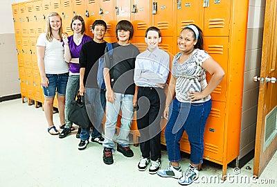 Diverse Students in School