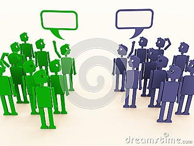 Diverse talks