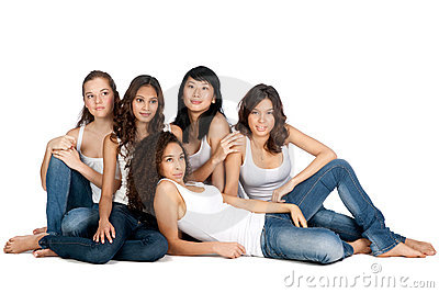 Diverse Teenagers