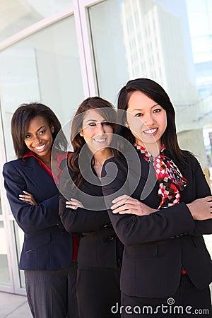 Diverse Woman Business Team