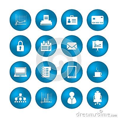 Diverses icônes de bureau