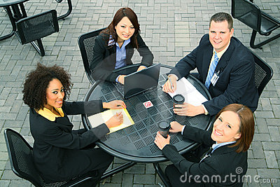 Diversity Business People