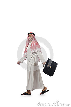 Diversity concept with arab