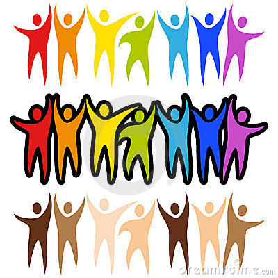 Free Diversity People Banners Royalty Free Stock Photography - 22593407