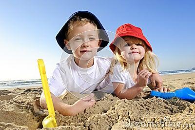 Divertimento alla spiaggia