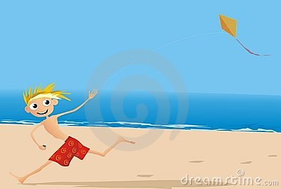 Divertimento na praia
