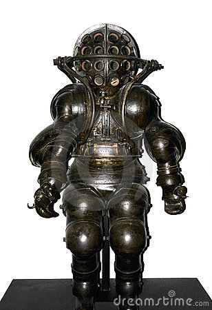 Diving suit in early age