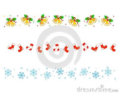 Divisor de la frontera de la Navidad